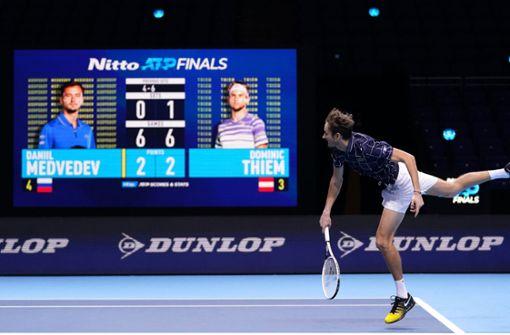 Sieg gegen Dominic Thiem – Daniil Medwedew triumphiert