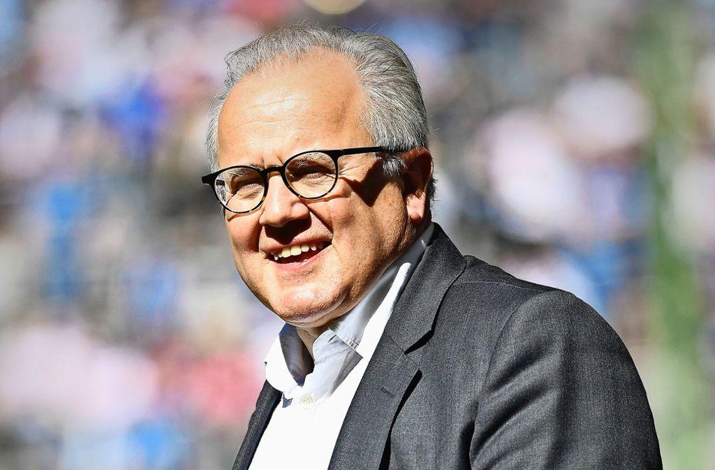 Fritz Keller ist derzeit Präsident des SC Freiburg. Foto: Getty