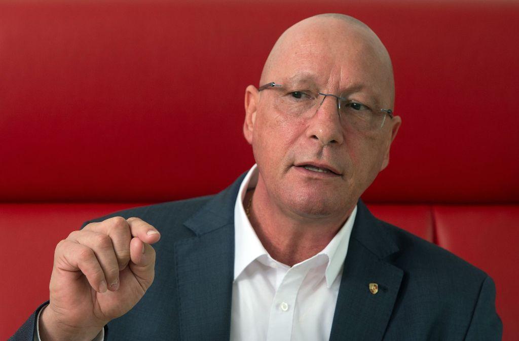 Gehört zu den Unterzeichnern: Porsche-Gesamtbetriebsratschef Uwe Hück Foto: dpa