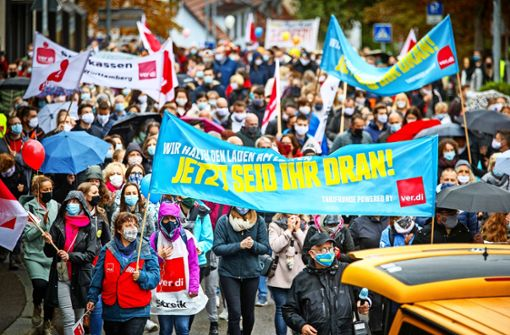 Streikwelle im Rems-Murr-Kreis