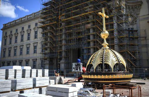 Kuppel kommt aufs Berliner Schloss