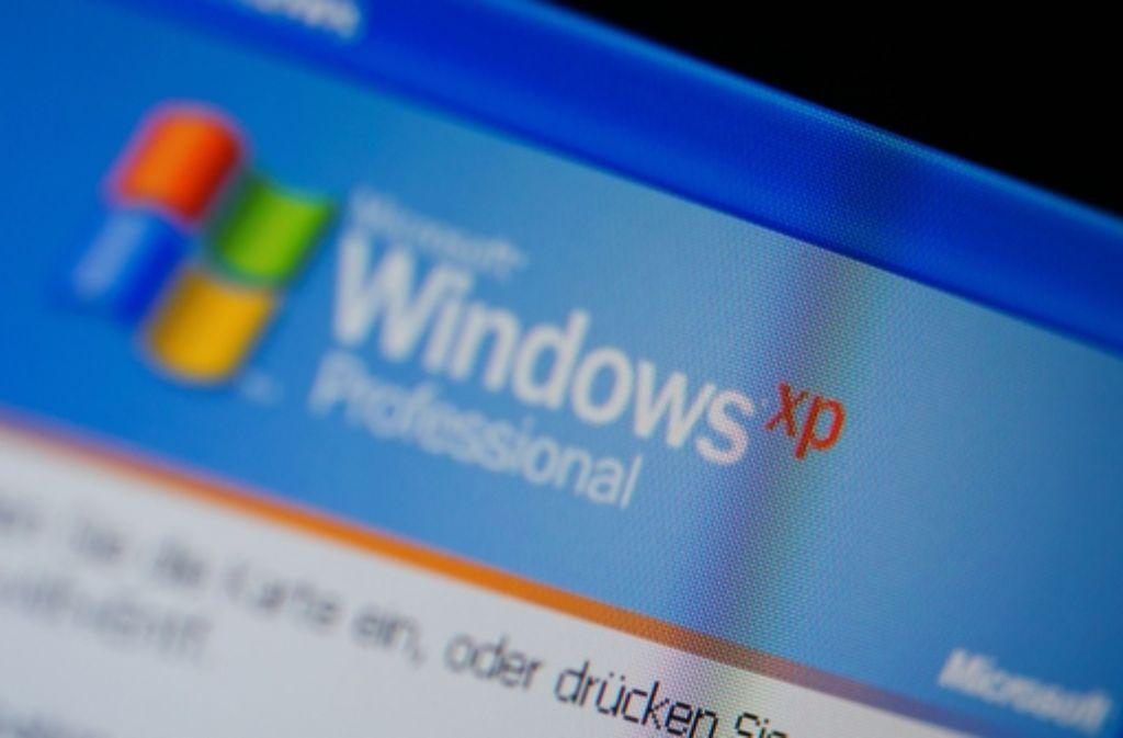 Microsoft hat am späten Dienstagabend zum letzten Mal zwei Sicherheitslücken beim Betriebssystem Windows XP geschlossen.  Foto: dpa-Zentralbild