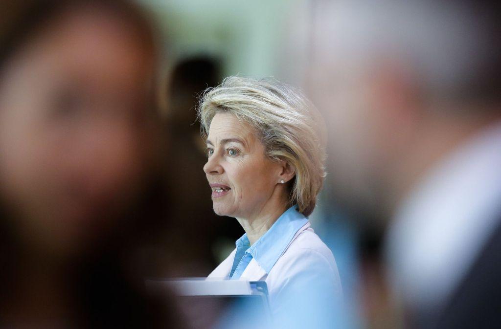 Verteidigungsministerin Ursula von der Leyen gibt gerne die engagierte Aufklärerin. Foto: AP