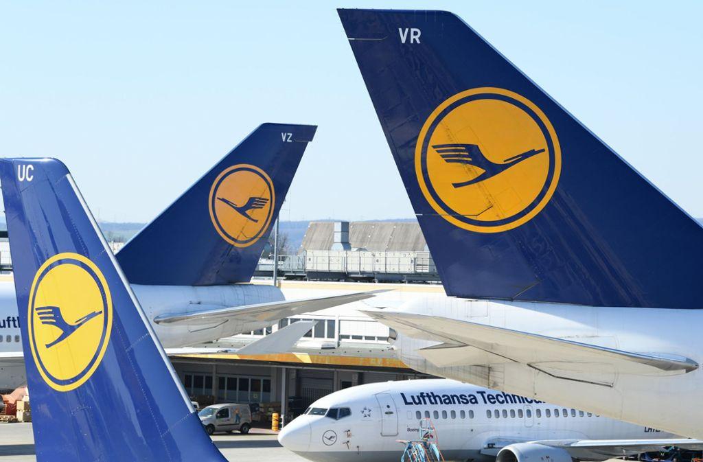 Die Lufthansa reagiert auf die Corona-Krise. Foto: dpa/Arne Dedert