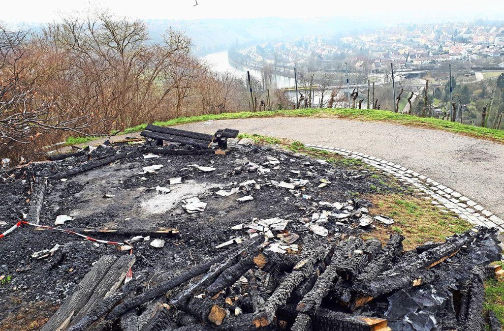 Die Schutzhütte auf dem Schnarrenberg steht nicht mehr. Foto: Edgar Rehberger