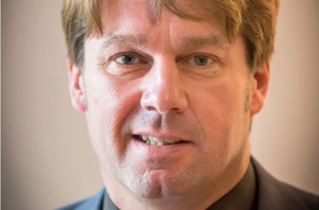 Dem Rathaus bleibt Bernd Klingler erhalten – allerdings als AfD-Stadtrat. Foto: Achim Zweygarth
