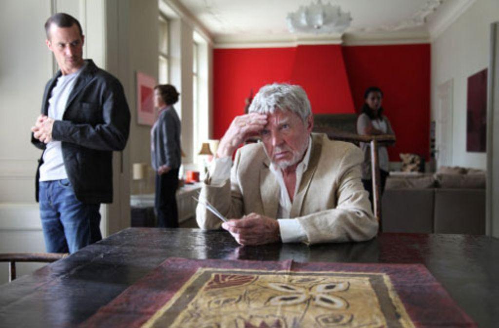 Die Vergangenheit holt ihn ein: Hardy Krüger als Konzernchef Victor Frey in der ZDF-Familiensaga. Foto: ZDF