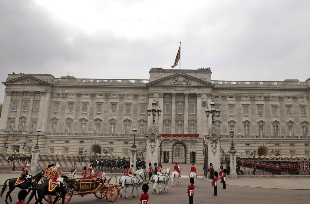 Der Buckingham-Palast ist in die Jahre gekommen. Foto: dpa
