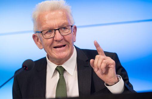 Kretschmann gegen Rassismus-Studie in der Polizei