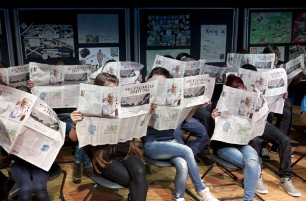 Sie lesen eifrig unsere Zeitung? Werden Sie Leserbeirat! Foto: Horst Rudel
