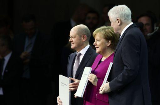So unzufrieden sind die Deutschen mit der Bundesregierung