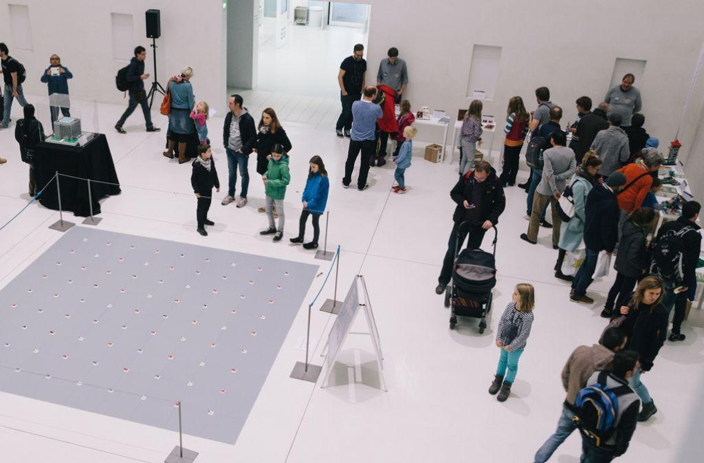 Die Stadtbibliothek hat zum fünfjährigen Jubiläum zum Familientag geladen. Foto: Lichtgut/Verena Ecker