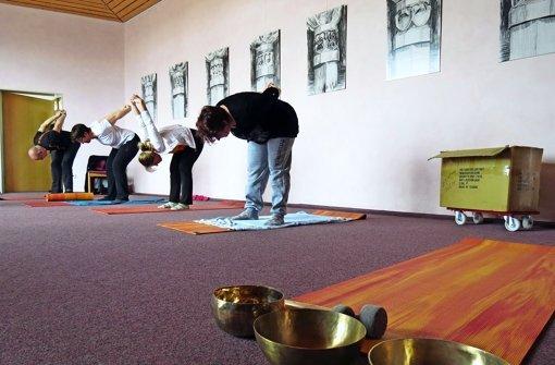 Yoga für den Arbeitseifer