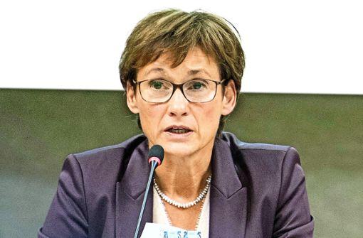 Die sachliche Parlaments-Vizepräsidentin