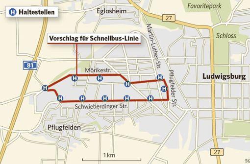 Schnellbusse für die dynamische Weststadt
