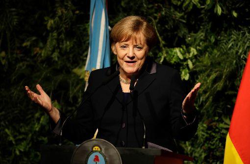 Merkel spricht in Mexiko über Trumps Handelspolitik