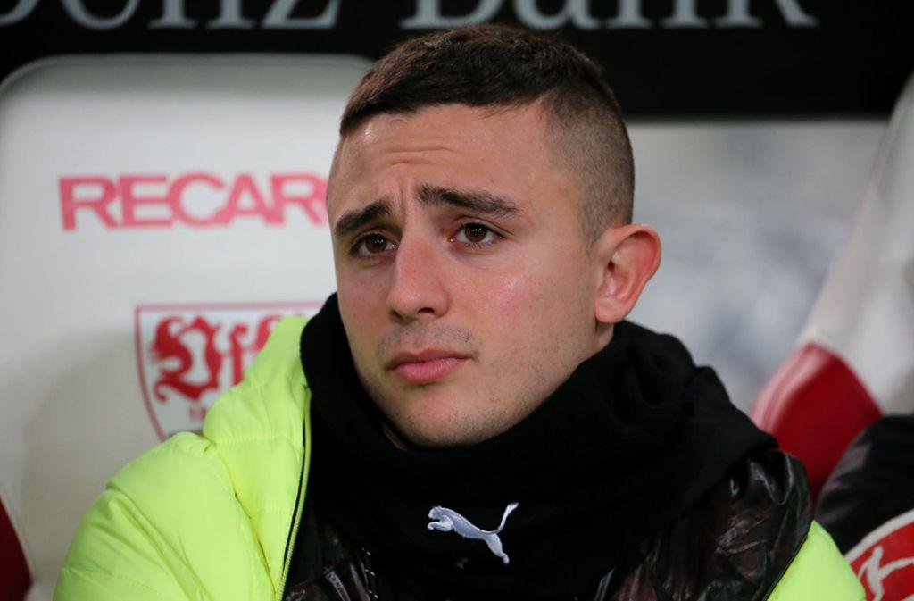 Pablo Maffeo wurde aus dem Profikader verbannt. Foto: Pressefoto Baumann