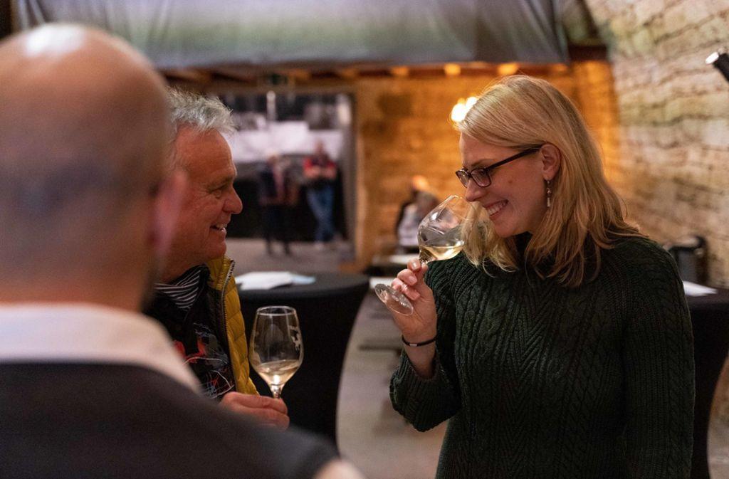 Vor allem bei Weißweinen wird der Lagencharakter deutlich. Foto: Julia Schramm/Julia Schramm