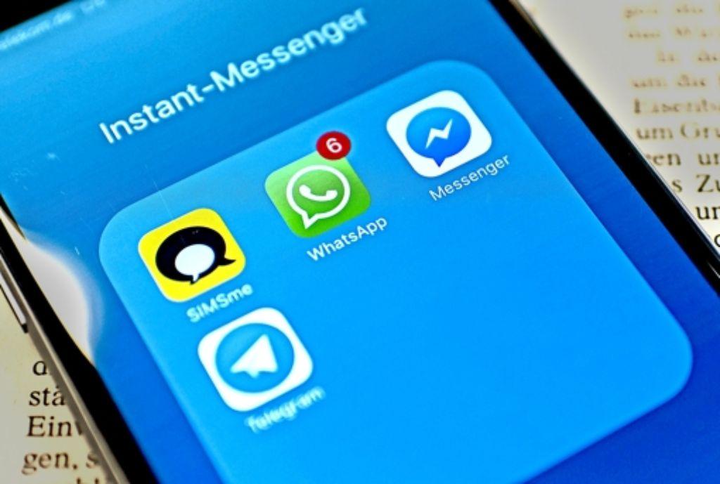Der Nachrichtendienst WhatsApp wird zwar in Sachen Datenschutz als äußerst kritisch eingestuft. Trotzdem ist er auf dem besten Wege zur Monopolstellung. Foto: dpa