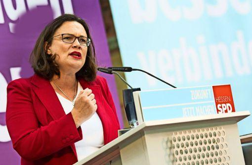 SPD gibt Druck der Basis nach