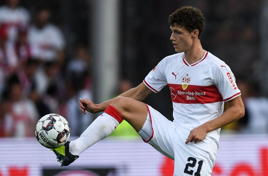 Nur noch bis Ende Juni im Trikot des VfB Stuttgart, danach beim FC Bayern: Abwehrspieler Benjamin Pavard Foto: dpa