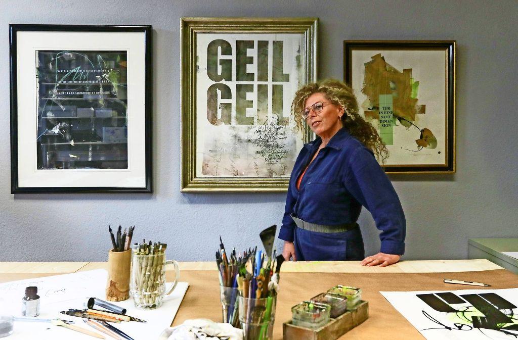 Mut, Bruch und Reflexion gehören zu Sigrid Artmanns Kunst  und Leben. Foto: factum/Granville