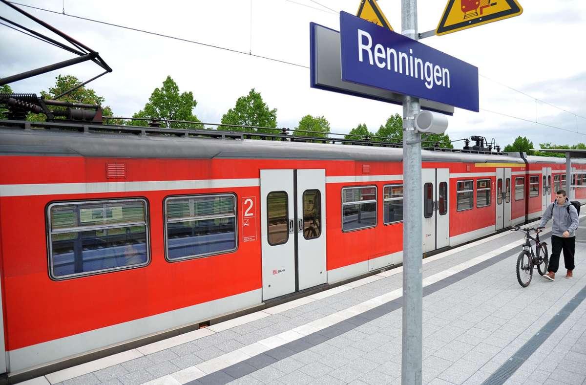 Die Eingleisigkeit soll auch mit der neuen Bahnverbindung nach Calw zwischen Renningen und Weil der Stadt fortbestehen. Eine Bürgerinitiative wehrt sich dagegen. Foto: TB