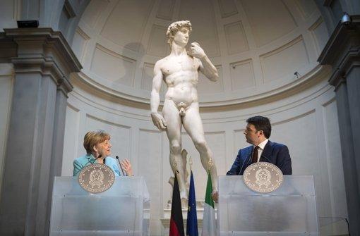 Merkel, Matteo und Michelangelo