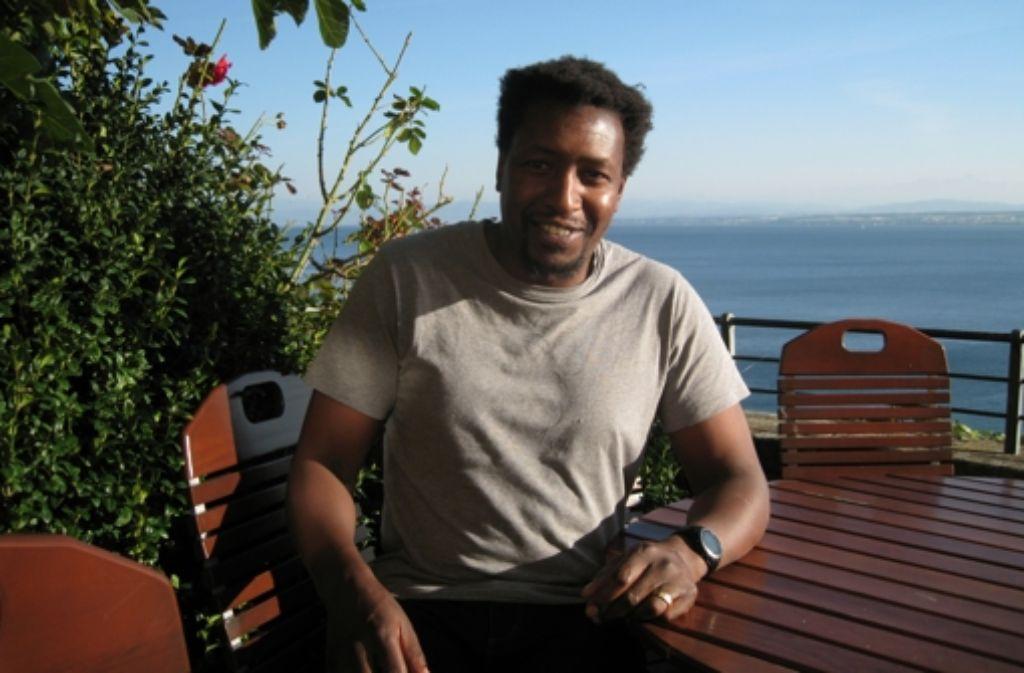 Mukoma wa Ngugi, ein US-Amerikaner kenianischer Herkunft, schreibt Krimis über einen Mann zwischen den Kulturen. Foto: Transit