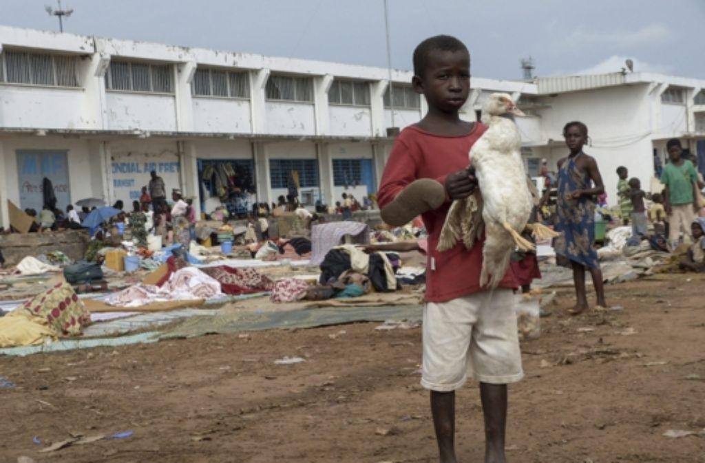 Seit einem Putsch muslimischer Rebellen im März 2013 herrscht in der Zentralafrikanischen Republik das Chaos.  Foto: dpa