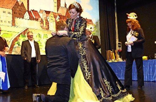 Ein Notfallkoffer für das neue Prinzenpaar
