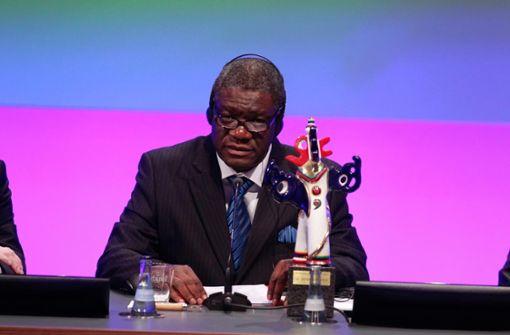 Stiftung des Alternativen Nobelpreises lobt Auszeichnung von Mukwege