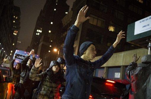 New Yorker protestieren erneut