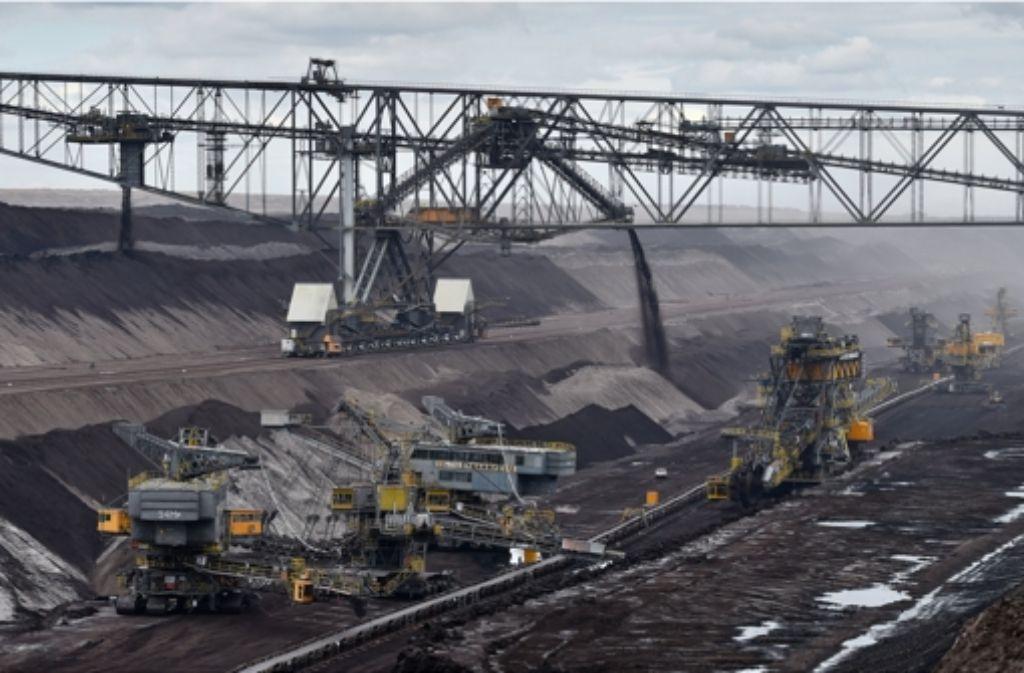 Die Divestment-Aktivisten fordern, dass die Kohleindustrie finanziell nicht mehr unterstützt wird. Foto: dpa