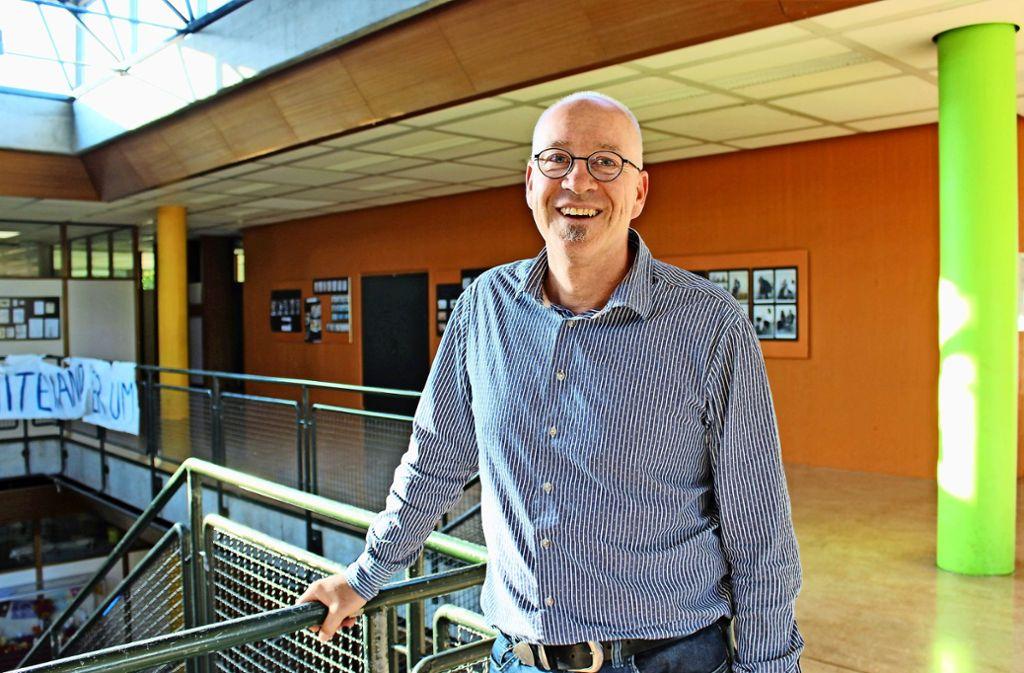 Andreas Hamm-Reinöhl ist der neue Schulleiter des Geschwister-Scholl-Gymnasiums. Foto: Holowiecki