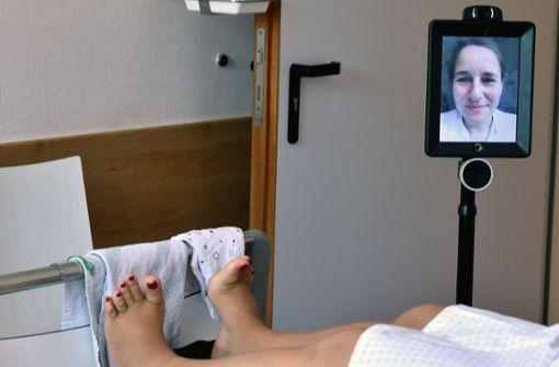 Wenn statt dem Arzt ein Roboter zur Visite kommt