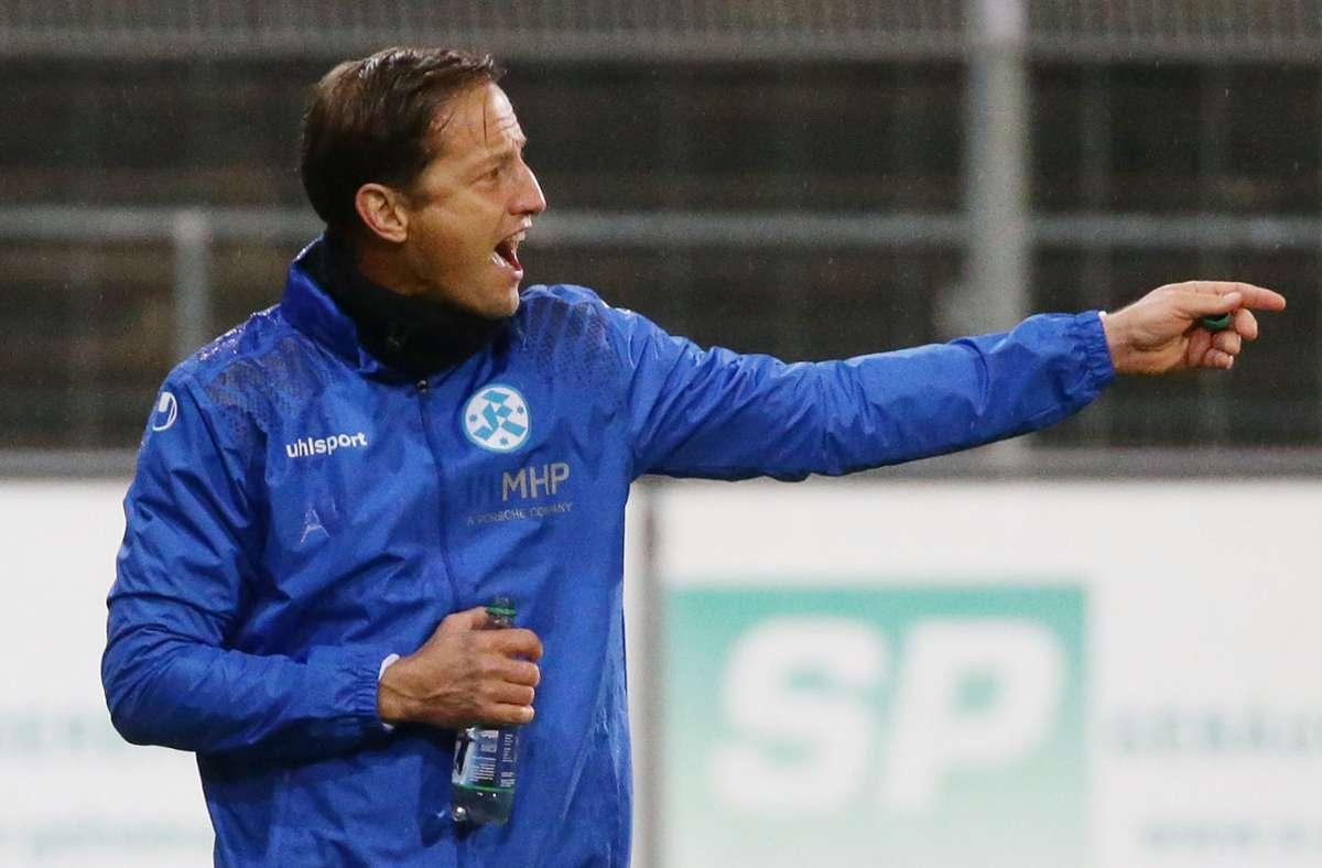 Ramon Gehrmann würde mit den Stuttgarter Kickers am liebsten auf eine Winterpause verzichten. Foto: Baumann