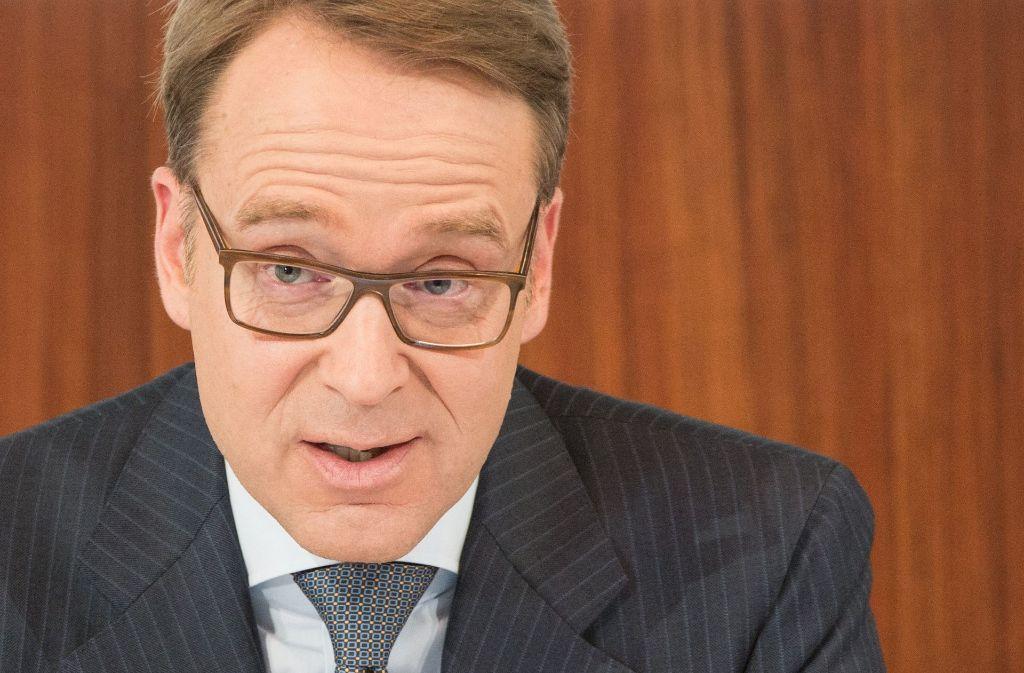 Bundesbankchef Jens Weidmann fordert von der EZB einen Kurswechsel. Foto: dpa