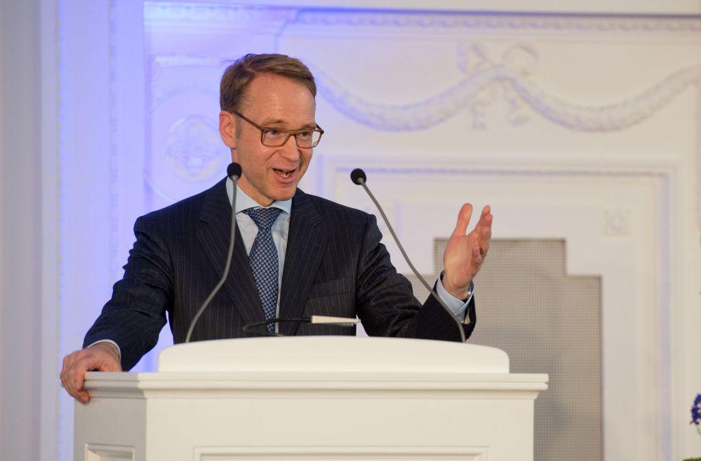 Bundesbankpräsident Jens Weidmann warnt immer wieder vor einer zu laxen Geldpolitik in Europa Foto: Lichtgut/Oliver Willikonsky