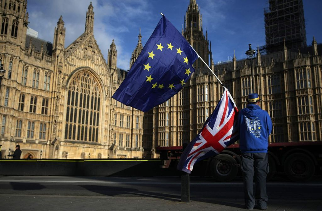 Der Brexit soll die Briten zehn Milliarden Pfund im Jahr kosten. Foto: AFP