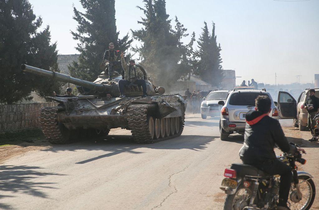 Ankara hat Beistand von der Nato und der internationalen Gemeinschaft gefordert. Foto: dpa/Anas Alkharboutli