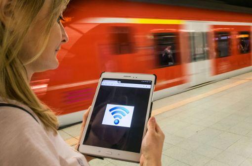 Alle S-Bahnen  sind jetzt mit WLAN ausgerüstet