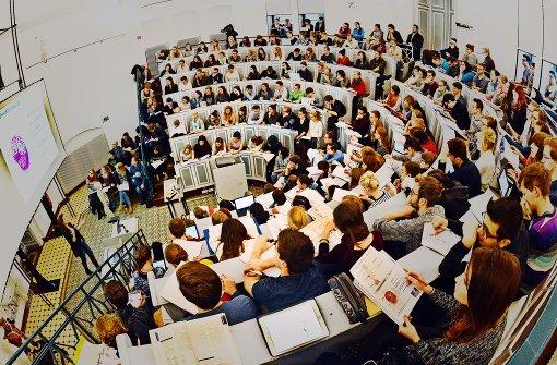 Der Stress-Pegel in deutschen  Hörsälen ist gestiegen. Foto: dpa