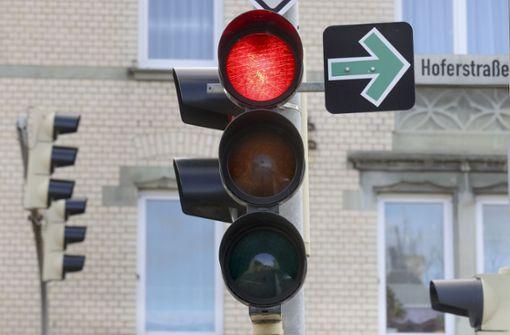 Auch in Ludwigsburg ist der Grüne Pfeil sinnvoll