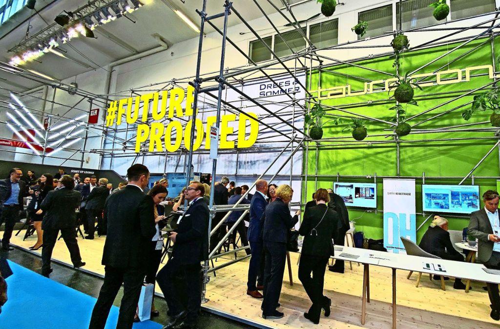 Sie gilt als größte Immobilienmesse Deutschland: die Expo Real Foto: Ingo Dalcolmo