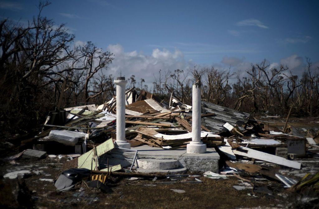 """2500 Menschen gelten nach Hurrikan """"Dorian"""" immer noch als vermisst. Foto: AP/Ramon Espinosa"""