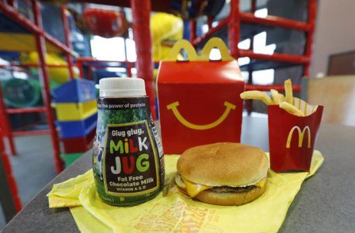 McDonald's streicht Cheeseburger aus dem Happy Meal