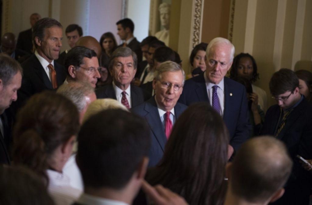 In der Atomdebatte mit dem Iran ist nun der US-Kongress am Zug.  Foto: EPA