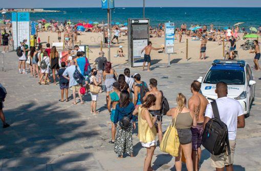 Auswärtiges Amt rät von Urlaubsreisen nach Barcelona ab
