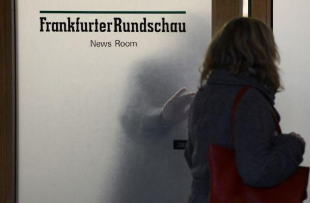 """Das Bundeskartellamt prüft eine Übernahme der insolventen """"Frankfurter Rundschau"""" durch die """"Frankfurter Allgemeine Zeitung"""". Das Vorhaben sei am Mittwoch angemeldet worden. Foto: dpa"""